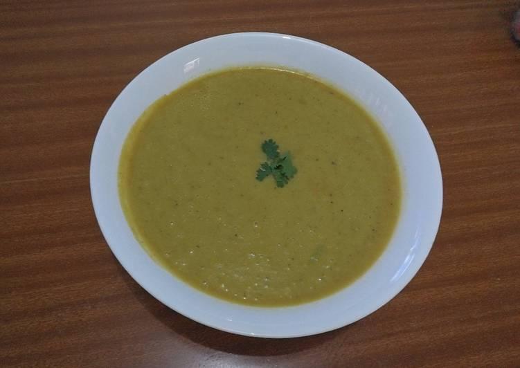 Steps to Make Ultimate #MyKenyanTraditionalMeal Broccoli soup