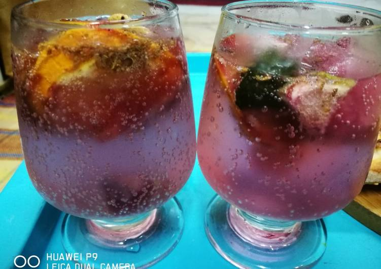 Recipe of Homemade Strawberry Mocktail