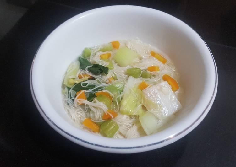 Resep Misoa kuah sayur Yang Mudah Pasti Ngiler