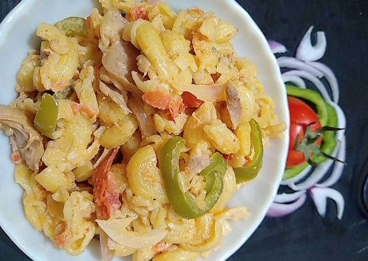 Recipe: Perfect Fajita Pasta