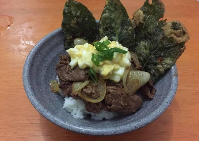 Beef yoshinoya