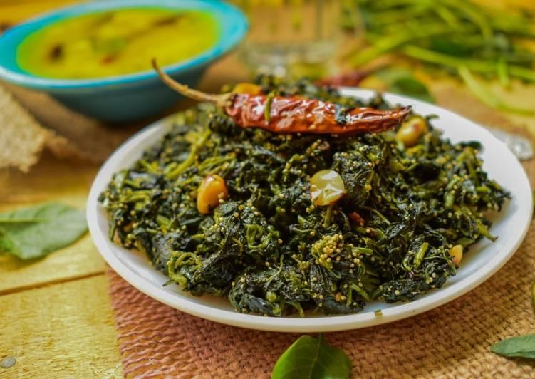 Green Amaranth Stir Fry