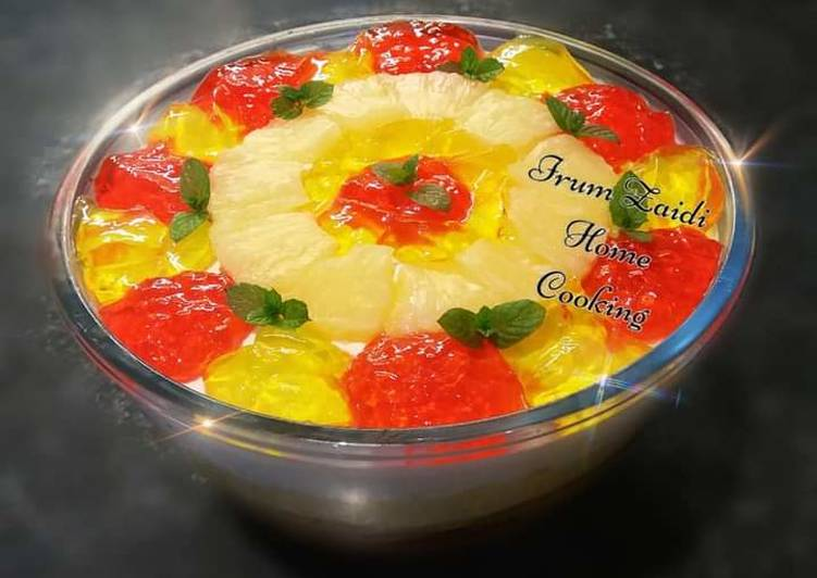 Easiest Way to Make Quick 🍍🍰Pineapple Trifle🍰🍍
