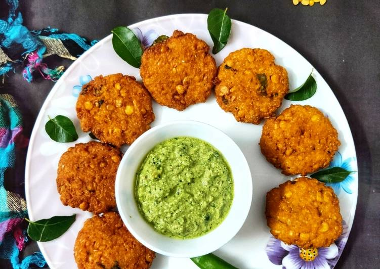 The South Indian Dal Vada Choosing Healthy Fast Food
