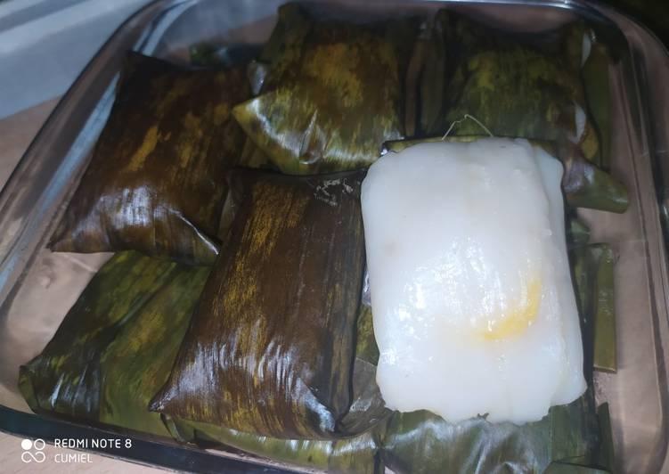 Nagasari/pais pisang/bongko/Kue pisang