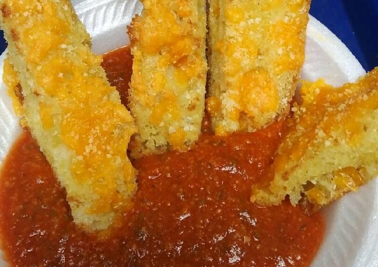 Ciabatta Bread Sticks and Sauce