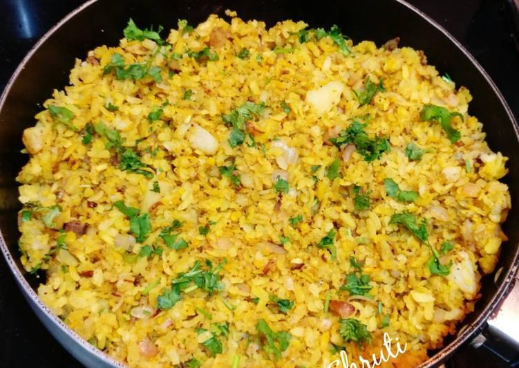 25 Minute Recipe of Winter Kanda Poha
