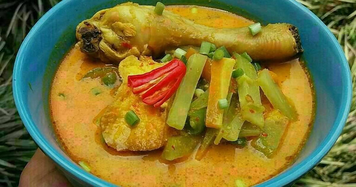 Resep Lontong Kari Ayam Sayur Oleh Novalia Rika Cookpad
