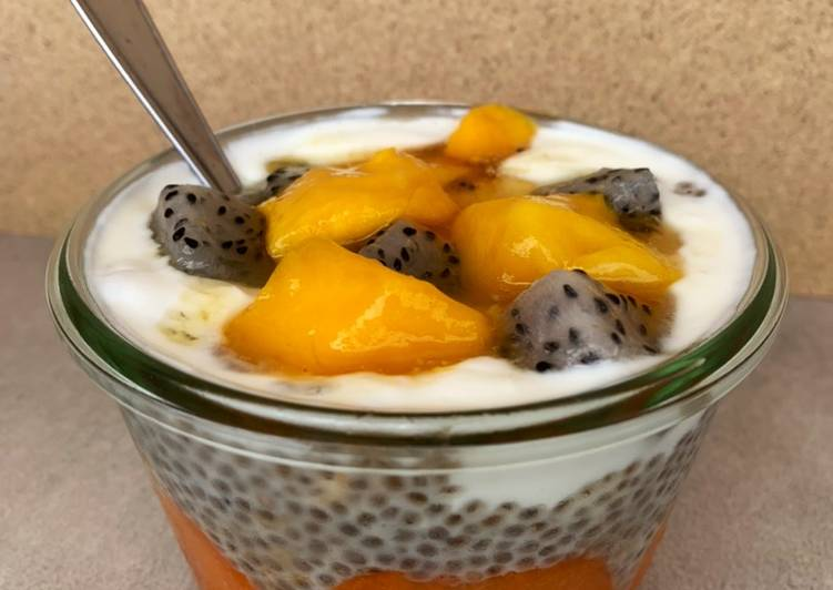 Recipe: Yummy Pudding chia / abricots