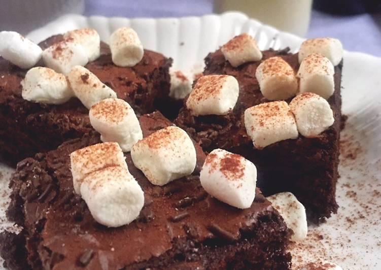 Hot Chocolate Brownies #SyedMunawwar