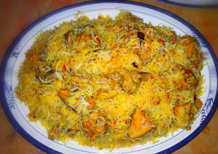 Punjabi biryani