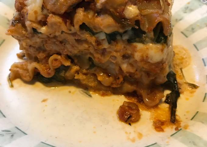 Vegan Tempeh Lasagna