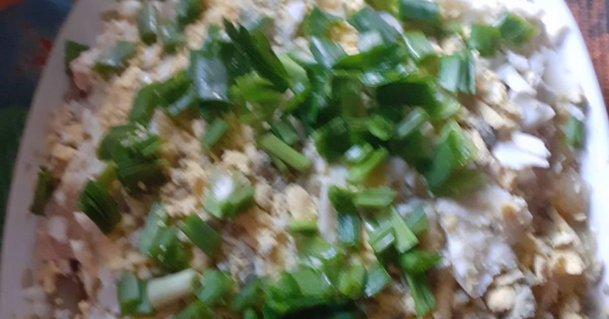 салаты из печени минтая рецепты с фото центара два