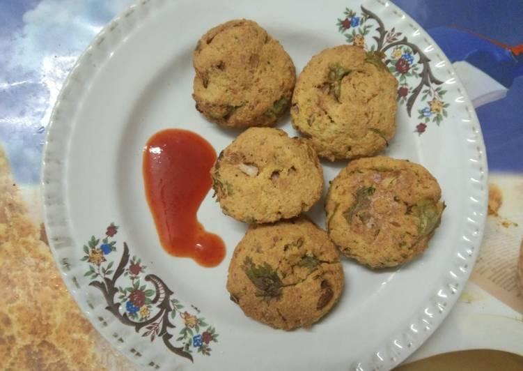 Egg bhurji pakora with air fryer - Laurie G Edwards