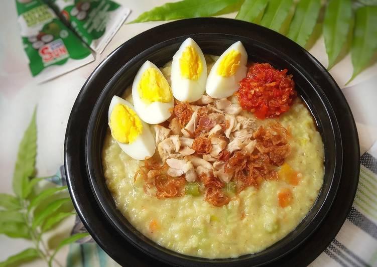 Resep Bubur Ayam Sayur, Sempurna