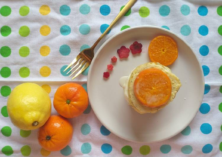 Steps to Prepare Top-Rated Poppy seed & Citrus Pancakes