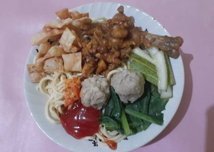 Mie ayam enak simple