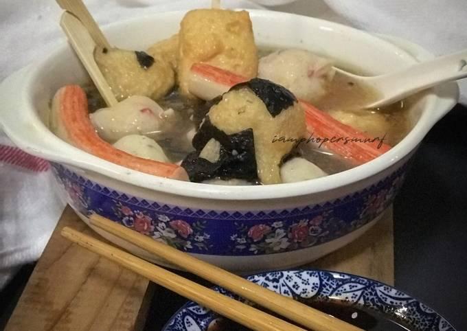 Oden Sup Rumpai Laut