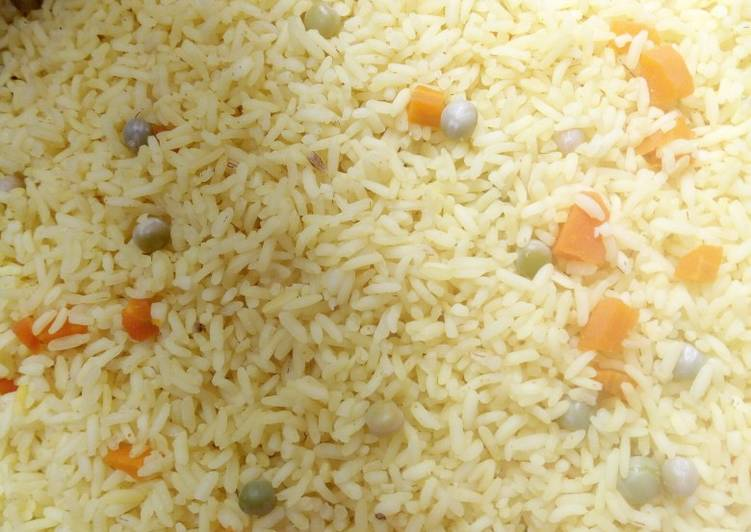 10 Minute Recipe of Homemade Simple Fried rice