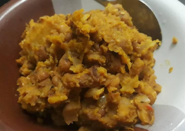 Recipe of Favorite Porridge beans and ripe plantain
