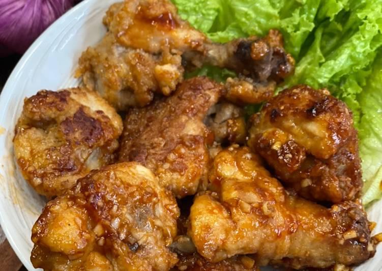Ayam Madu Pedas ala Tiger Kitchen