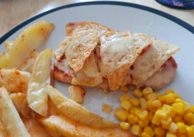 Nacho chicken breast