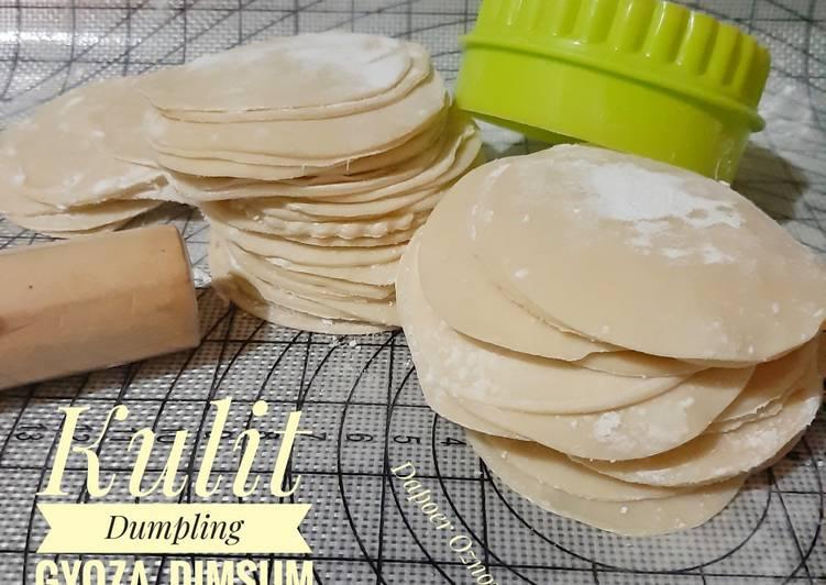 Kulit Dumpling /Gyoza / Dimsum