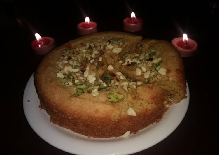 Step-by-Step Guide to Prepare Speedy Whole wheat cake shrimal