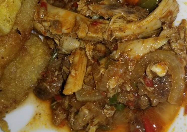 Recipe of Super Quick Homemade Shredded beef and chicken sauce