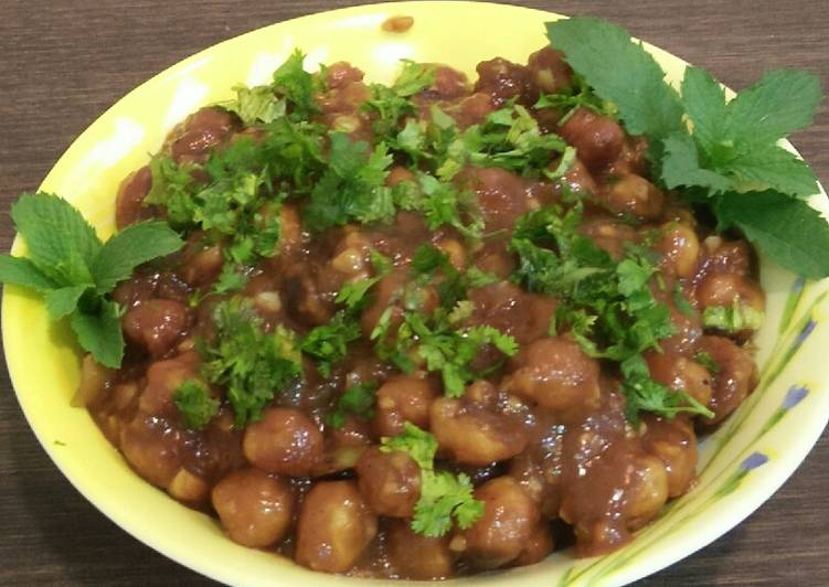 Simple Way to Make Ultimate Crunchy chana chilli