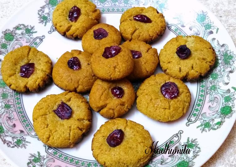 Wheatflour (atta) Cookies