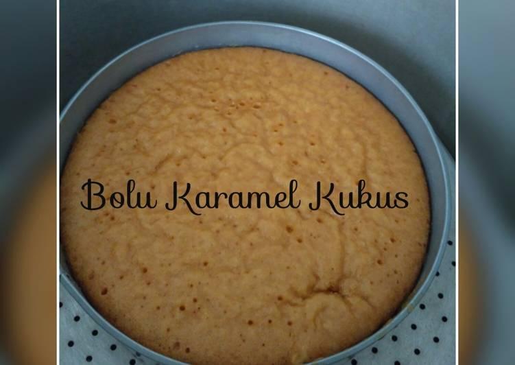 Bagaimana Menyajikan Bolu Kukus Karamel (Super Simple, no mixer, no telur) #pr_recookanekabolkus Sederhana