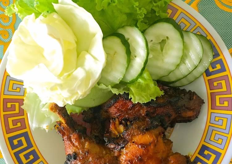 Ayam Bakar Madu Pedas Manis