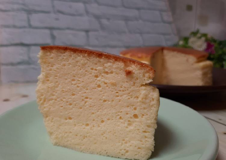 Japanese Cotton Cheesecake #DEBM