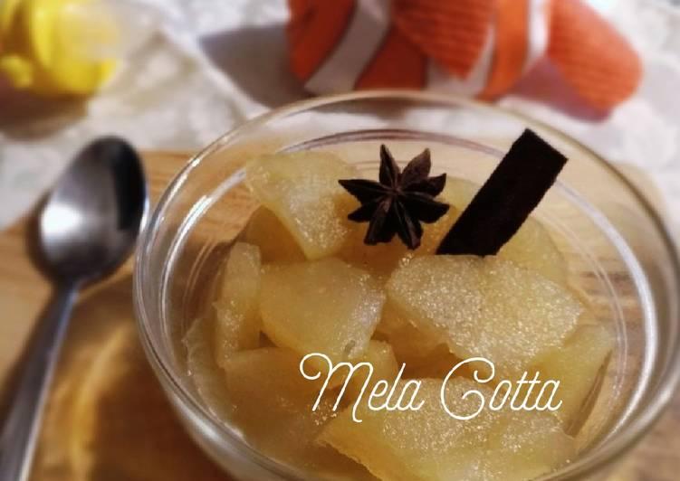 Mela Cotta (Setup Buah Apel). MPASI Bulan