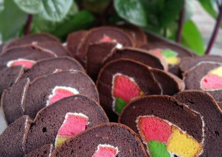 Roll cake / Bolu gulung (super lembuutttt) 😍😍