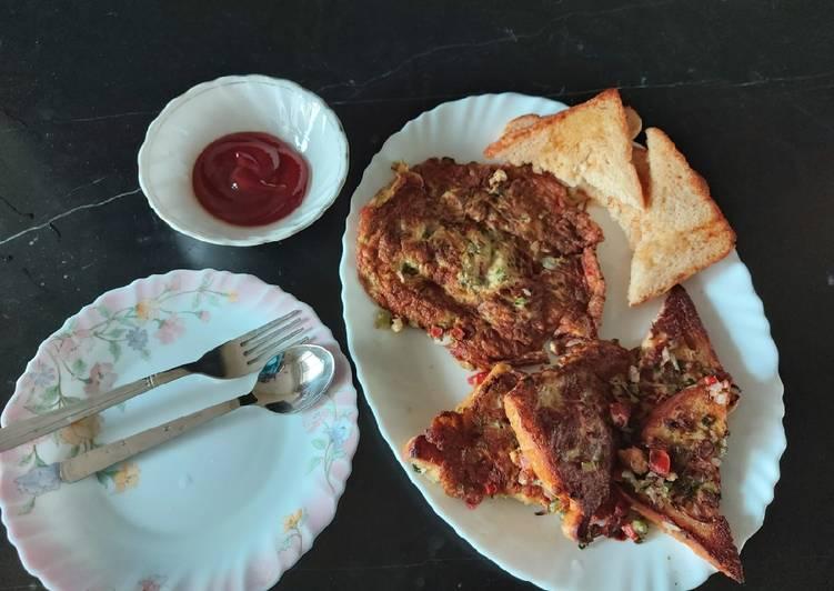 Recipe of Speedy Veggies eggs omelet