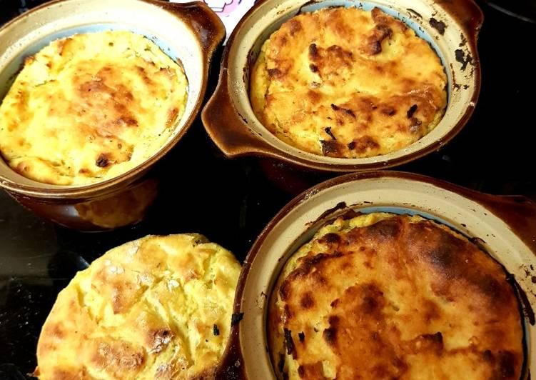 Potato Cheese & Onion Oven Bakes. 🤗