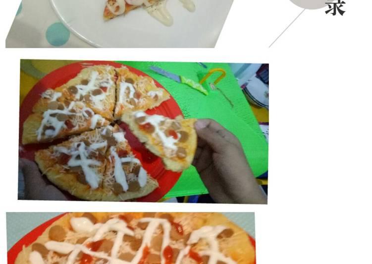 Pizza ala khoulah en kalyca