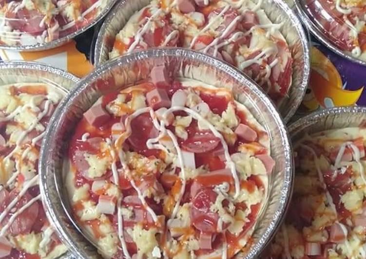Cara Mudah Masak: Pizza Kampung  Termudah