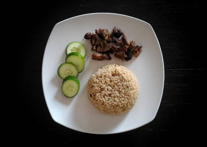 Bahan-bahan Nasi Kebuli Daging Kambing yang enak dan Mudah Dibuat