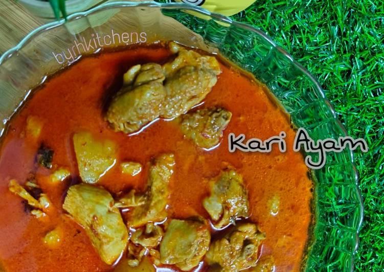 Kari Ayam Cepat & Mudah - velavinkabakery.com