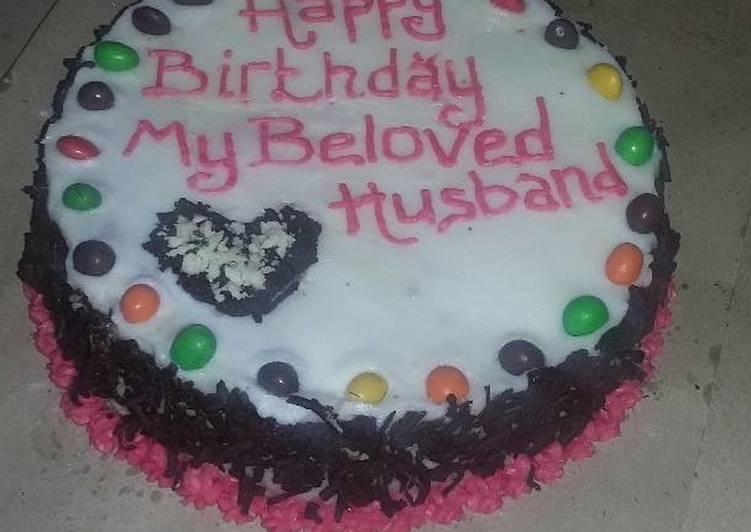 Resep Kue Ultah Suami Oleh Indah Mumu Cookpad