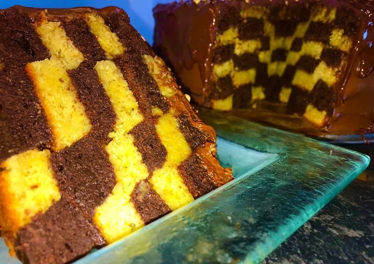 Chocolate Illusion Cake