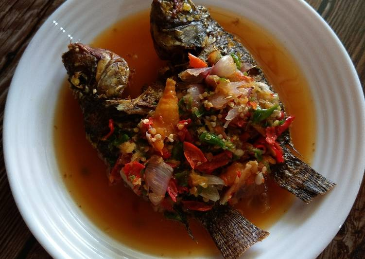 Resep Pecak Ikan Mujair Oleh Dapurr Emma Cookpad