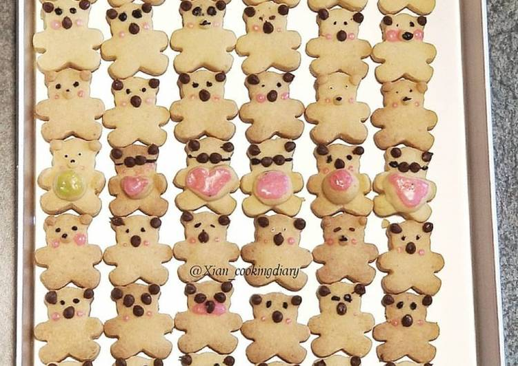 Kawaii Bear Cookies
