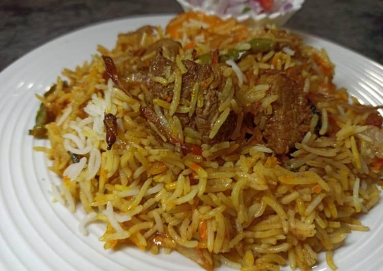15 Minute How to Prepare Vegan Spicy Beef Biryani