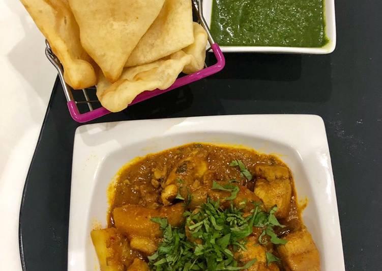 Recipe of Super Quick Homemade Chicken curry By Hajira Farook @hrns_cuisine