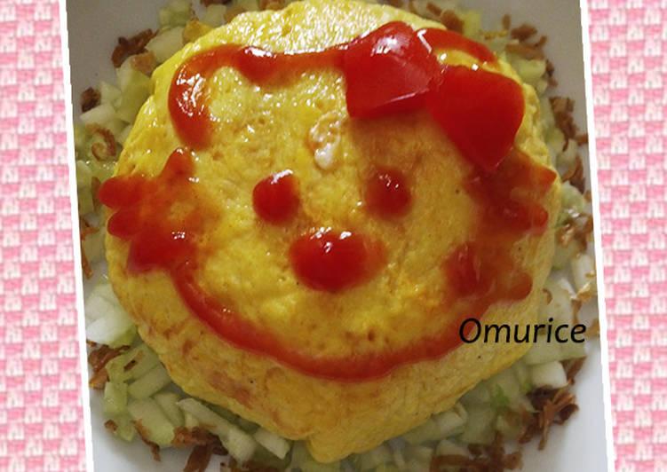 Resep Omurice ala saya :) Top