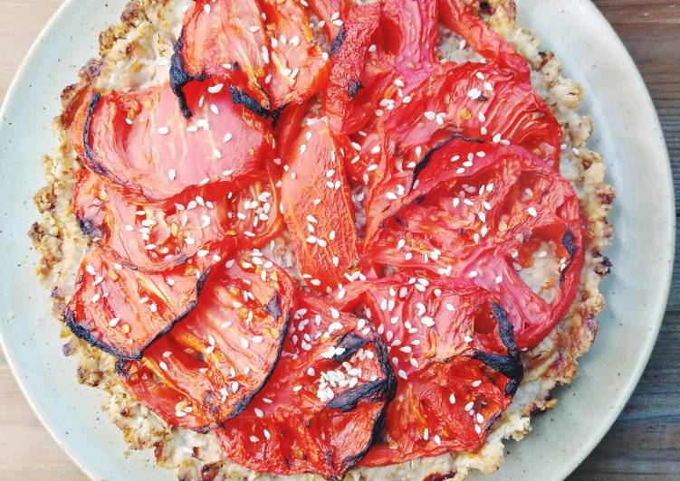 Comment Servir Tarte au thon et a la tomate